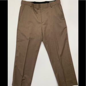 Banana Republic 38/30 100% wool brown dress pants